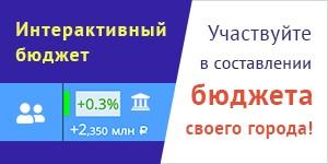 Банер интерактивный бюджет